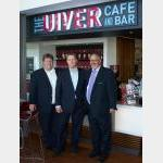 Descendents of the original Uiver's radio operator at Albury Airport's new cafe