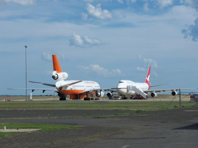 Tanker 10 with QF 744