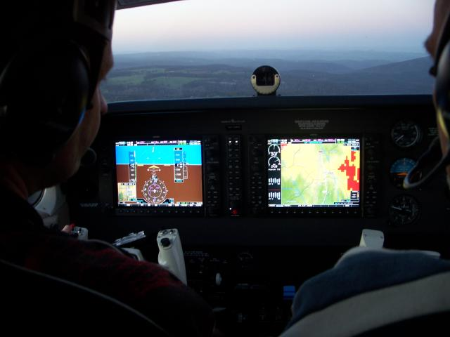 G1000 equipped cockpit