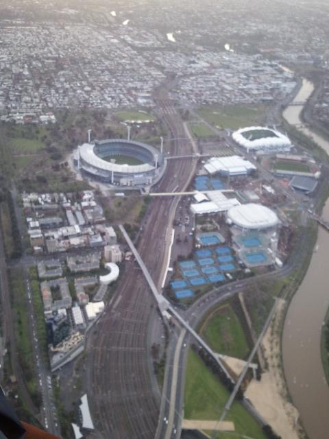 MCG, Tennis Centre, AAMI Stadium