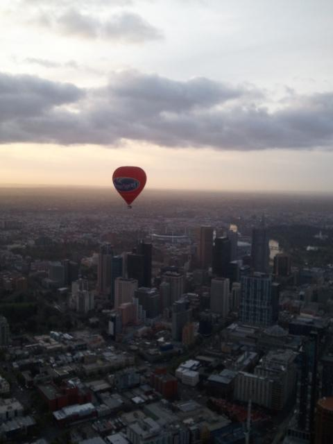 Balloon Over Melbourne
