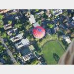 Balloon over the burbs