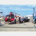 Step from your luxury car to your luxury helicopter
