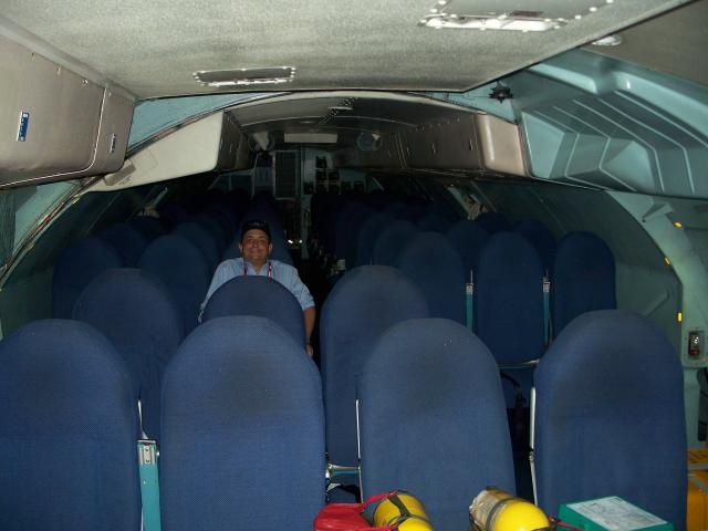 Rear troop & passenger compartment