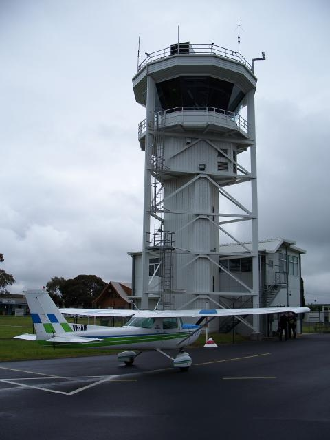 VH-AIF - YMMB Tower