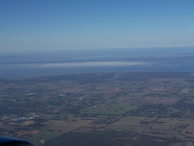 Low cloud around Phillip Island